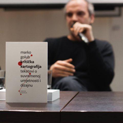 Promocija knjige Kritička kartografija – tekstovi o suvremenoj umjetnosti i dizajnu