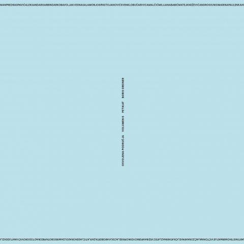 Boris Greiner: Osvojena područja – volumen 6